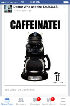 Coolest coffee pot ever