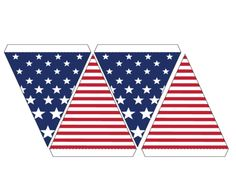 Banner Bunting – Stars and Stripes
