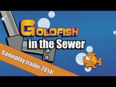 """Goldfish in the Sewer  The player is controlling the Goldfish and main task is to try to complete all levels as fast you can to unlock more levels and have better ranking at the leader board. Player uses pipe walls to make fish to go faster to specific direction and collect various """" fruit power ups"""" to reduce level time."""