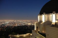 Griffith Park Observatory - woah I thought this was my picture at first haha. I want to go back</3