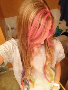 New Color Hair with Chalk