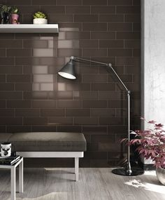 StonePeak Ceramics | Shadows Collection | Brown Glossy