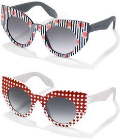 Brilhos da Moda: Os óculos de sol com 210 combinações diferentes, s...