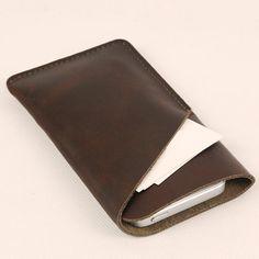 Bezoek onze webshop voor alles stijlvoller iPhone hoesjes - #leather iphone case etsy | Leather iPhone Wallet , iphone Case  , iphone sleeve -iPhone Leather Case - (820) on Etsy, $29.00 - http://lereniPhone5hoesjes.nl