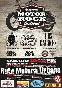Motor Rock Festival!! Ruta Motera Urbana en Vigo el 10 de Noviembre, zona Ayuntamiento,Venezuela, Progreso.....