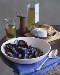 Mussels eat-drink