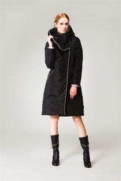 Womens Knee Length Winter Coats Photo Album - Reikian