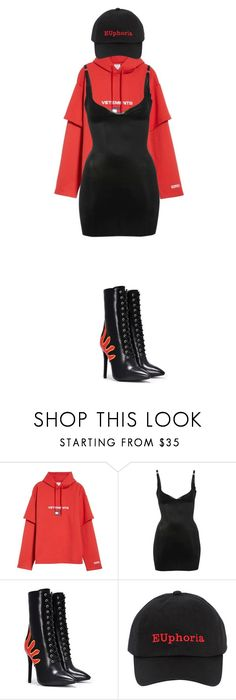 """""""Untitled #120"""" by zivapersonalshopping on Polyvore featuring Vetements, M&Co, Nasty Gal and MISBHV"""