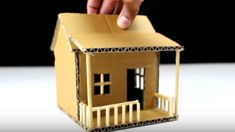This pin instruct you in a brilliant manner how to create cardboard house at home.