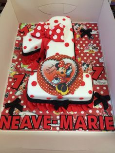 Minnie Mouse cake number 1