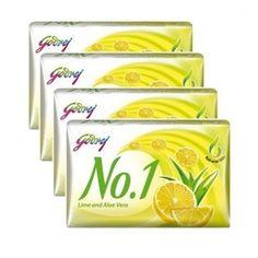 Godrej Lime Aloe Vera Soap box of 4