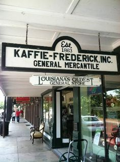 Kaffie-Frederick General Mercantile Store - Natchitoches