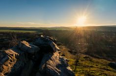 https://flic.kr/p/j7pL4u | Guten Morgen! | Sonnenaufgang an der Teufelsmauer in Weddersleben