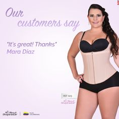 f6379a34f It´s great ! Thanks .. Maria Diaz Colombian Waist Trainer