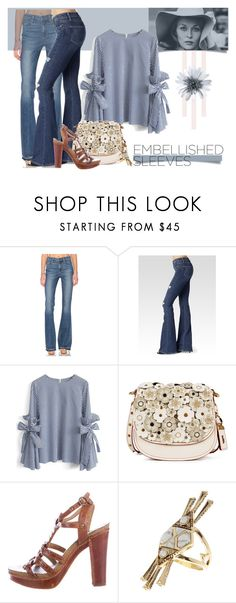 """""""Belle Faye"""" by cdshep ❤ liked on Polyvore featuring Paige Denim, Chicwish, Coach 1941, Frye and House of Harlow 1960"""