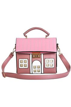 (This is an affiliate pin) Personality House Shaped Messenger Bags PU Leather Crossbody Shoulder Bag for Ladies Girl Casual Mini Handbag Crossbody Shoulder Bag, Shoulder Handbags, Leather Crossbody, Pu Leather, Mini Handbags, Beige, Messenger Bags, Lady, Casual