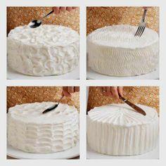 comment décorer un crémage à gâteau