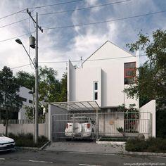 Banjar Wijaya House by Sonny Ferian ,ST at Coroflot.com