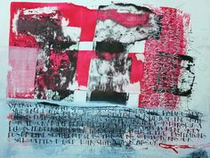 Hiroshima Mon Amour - Acrylic Ink and Gesso
