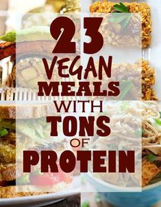 23 Vegan Meals With Tons Of Protein