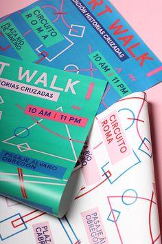 Art Walk Mexico | Crossed Stories on Behance