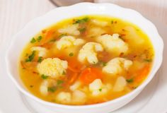 Karfiolová polievka s mrkvou - Recept pre každého kuchára, množstvo receptov pre…