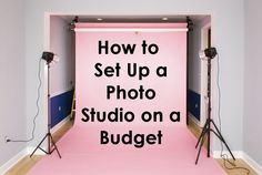 How to Set Up a Photo Studio on a Budget | Backdrop Express Photography Team
