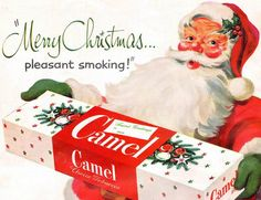 Merry Christmas… pleasant smoking!  1952