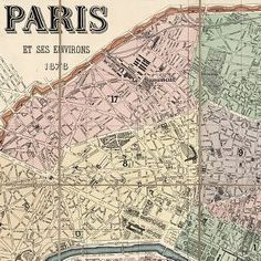 This category includes maps that depict individual buildings to panoramic views of large urban areas. These maps record the evolution of cities illustrating the development and nature of economic activities, educational and religious facilities, parks, street patterns and widths, and transportation systems.