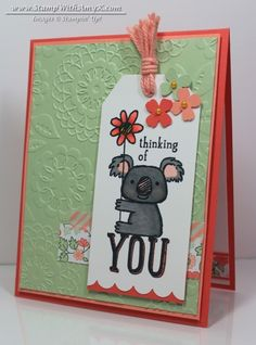 Kind Koala - Stampin' Up! - Stamp WIth Amy K