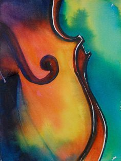 violin...love at first string... Too bad I suck at playing the violin