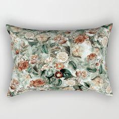 Botanical Garden VII Rectangular Pillow by RIZA PEKER | Society6