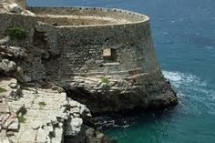 Officially known as Kadylon, this used to be a leper colony. Arab raiders, Venetian explorers and ottoman Turks fought over the city for c. Leper Colony, Ottoman Turks, Crete Greece, Left Alone, Abandoned Places, Venetian, Colonial, Island, Explore