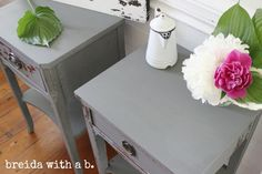 miss mustard seed's milk paint | trophy nightstands