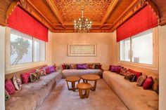 Salon marocain pour inspiration