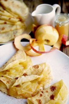 Apple Crepes for Thanksgiving Brunch