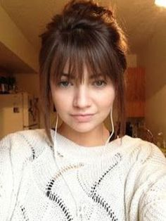 Amazing Hairstyles With Bangs Ideas You Will Want To Copy34