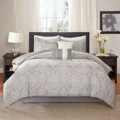 Averly 7 Piece Comforter Set by Madison Park