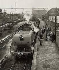 Australian steam locomotive last train to richmond nsw - Google Search Garratt.
