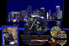 Rodolfo Llanes, Chief of the Miami Police Department in Florida sadly reports the death of Motor Officer Jorge Sanchez.    http://www.lawenforcementtoday.com/in-memoriam-police-officer-jorge-sanchez/