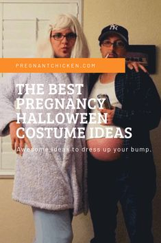 The best funny Pregnancy Halloween costume ideas. From hiding your pregnancy to decorating your pregnant belly in the third trimester, we have DIY and store-bought costumes for you! Pregnant Costumes For Couples, Pregnancy Costumes, Pregnant Halloween Costumes, Funny Pregnancy, Pregnant Couple, Pregnancy Care, First Pregnancy, Cute Costumes, Halloween Kostüm