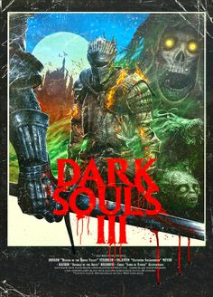 Post with 7875 views. So I isolated a poster out of the Dark Souls III VHS cover Bloodborne Art, Game Art, Dark Souls, Illustration, Dark Fantasy, Cover Up Tattoos, Artwork, Soul Art, Dark
