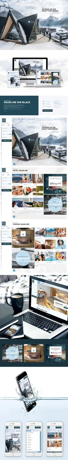Aqua Dome - Webdesign on Web Design Served
