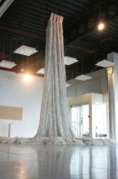 Stunning Shredded Book Sculptures by Jukhee Kwon - My Modern Metropolis