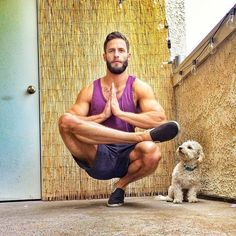 Need a better reason to take on a healthy lifestyle? If so, I encourage you to take a look at these hot guys doing yoga and tell me if you aren't inspired.