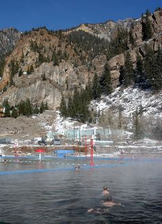 Ouray Hot Springs, Ouray, Colorado This was a very nice place to take the kids