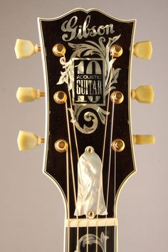 Gibson Acoustic, Gibson Guitars, Acoustic Guitars, Unique Guitars, Custom Guitars, Vintage Guitars, Guitar Inlay, Resonator Guitar, Les Paul Custom