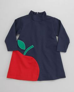 Love this! Apple Ponte Dress by Florence Eiseman at Bergdorf Goodman.
