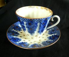 Lomonosov Imperial Russian Porcelain Cobalt Blue & White