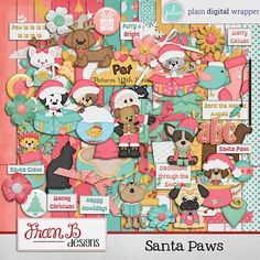 Santa Paws by FranB Designs